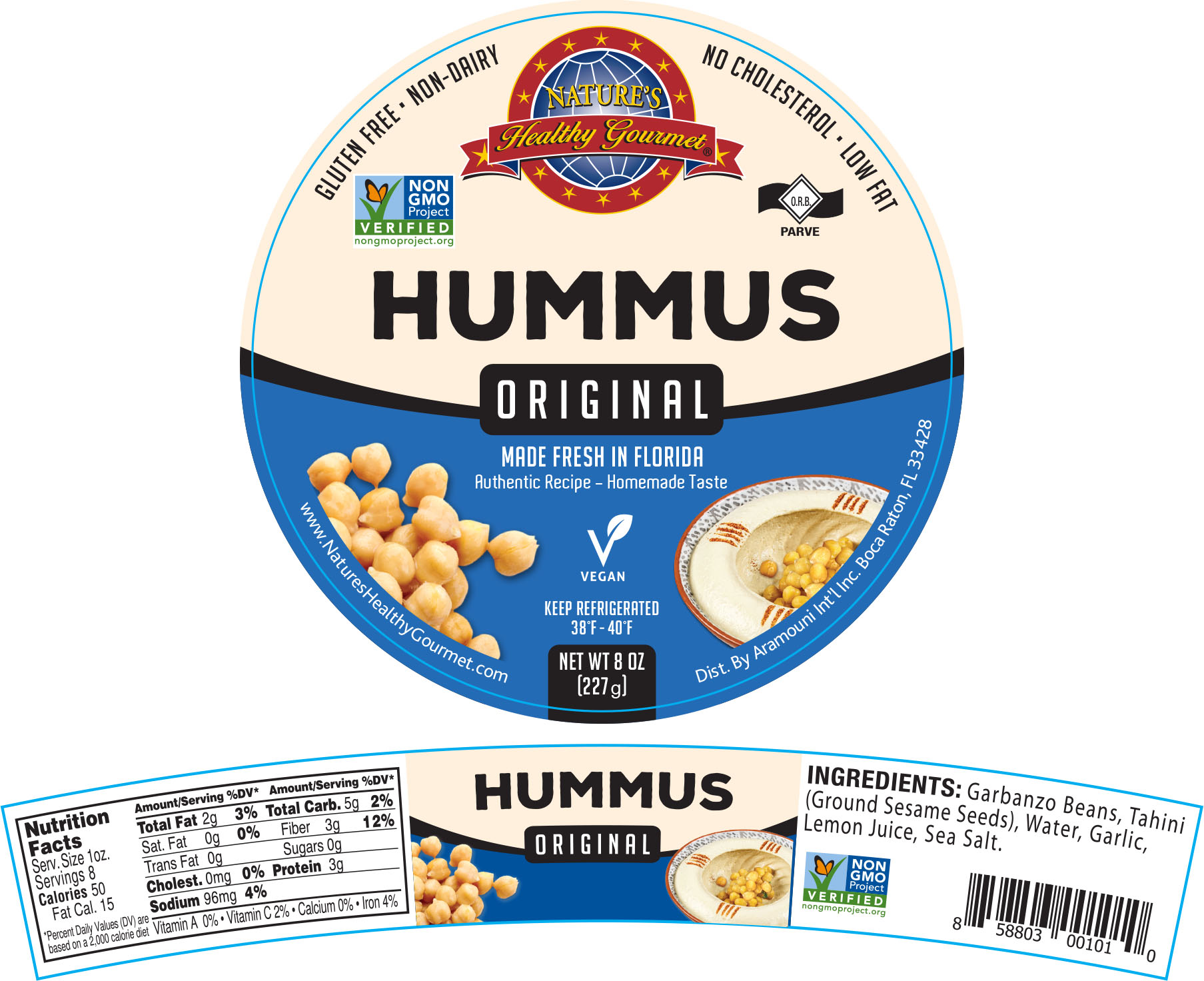 Nature's Original Hummus