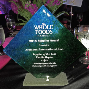 Supplier of The Year Award for Florida