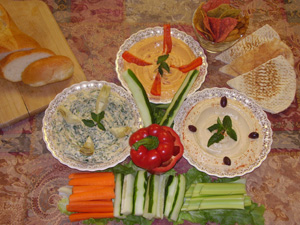 Natures Healthy Gourmet - Hummus