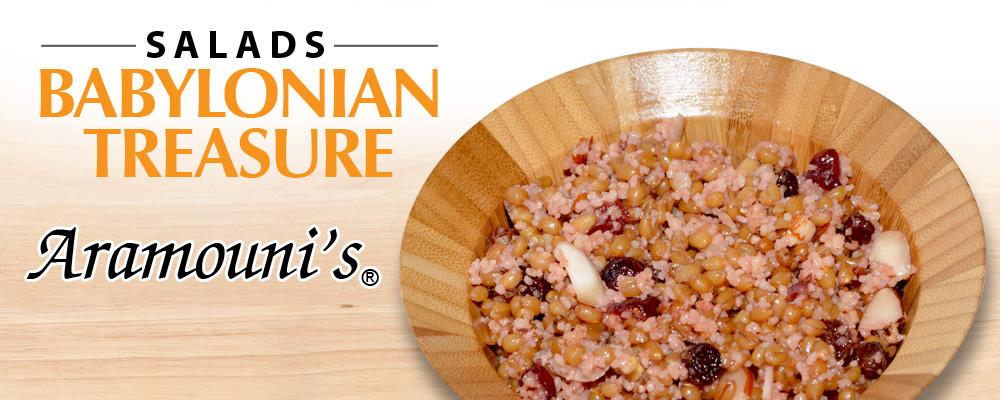 Babylonian Treasure Salad - Aramouni's