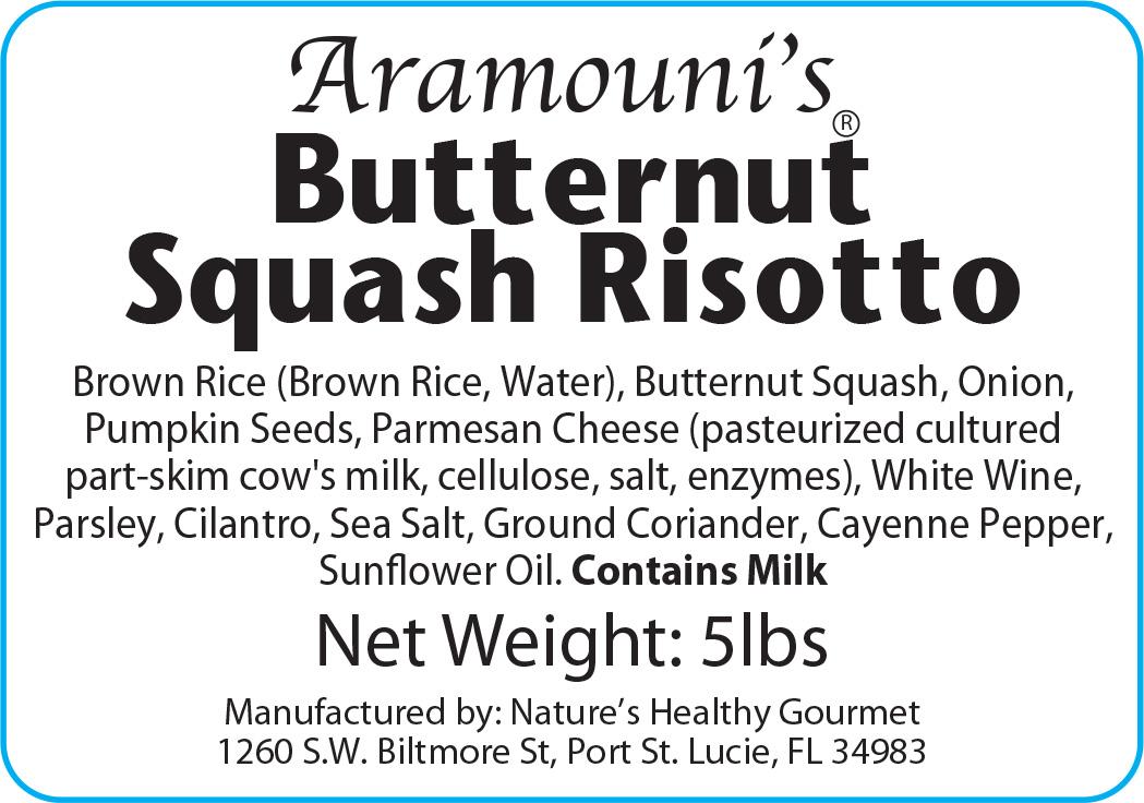 Aramouni's Butternut Squash Risotto