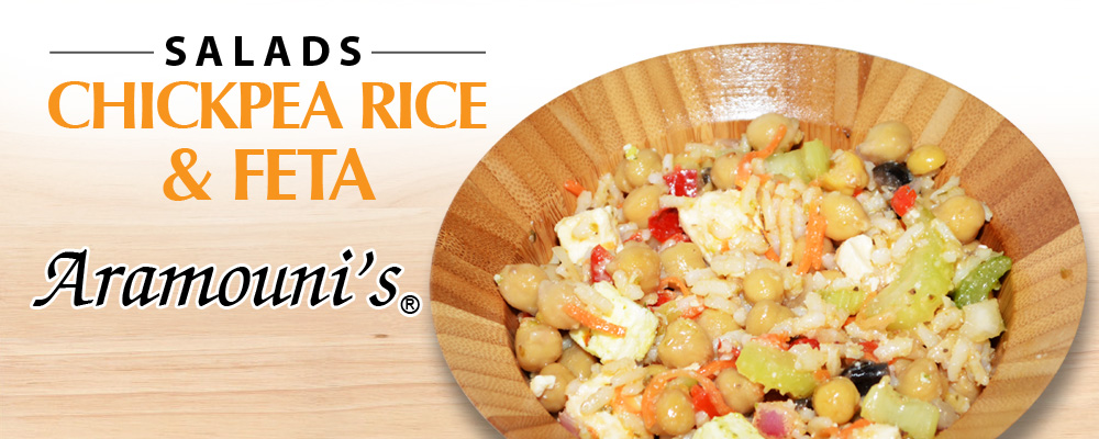 Chickpea Rice & Feta Salad - Aramouni's