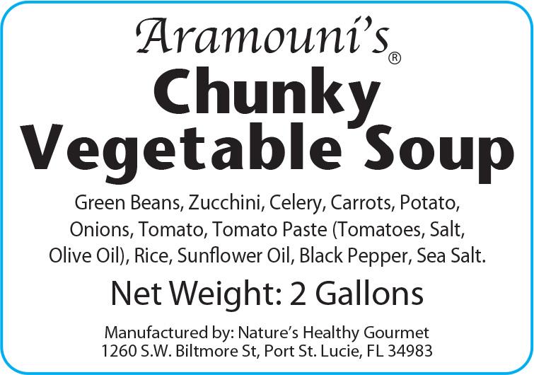Aramouni's Chunky Vegetable Soup