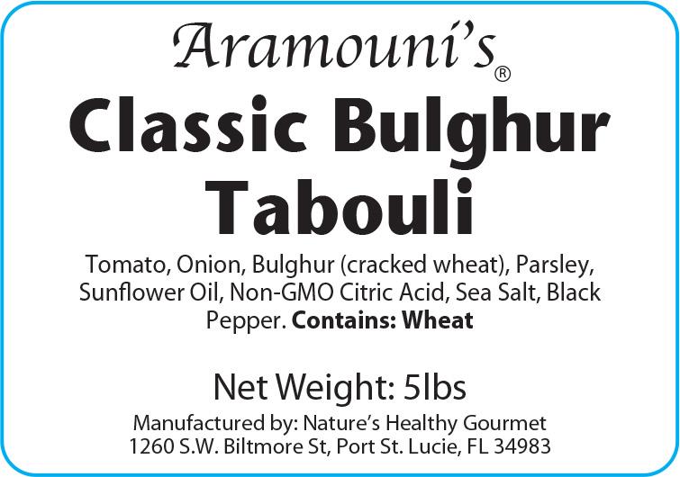 B124 Bulghur Tabouli (Old D-231) proof 6-4-19