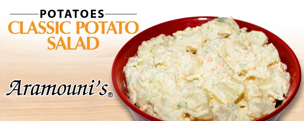 Classic-Potato Salad Banner Aramouni's