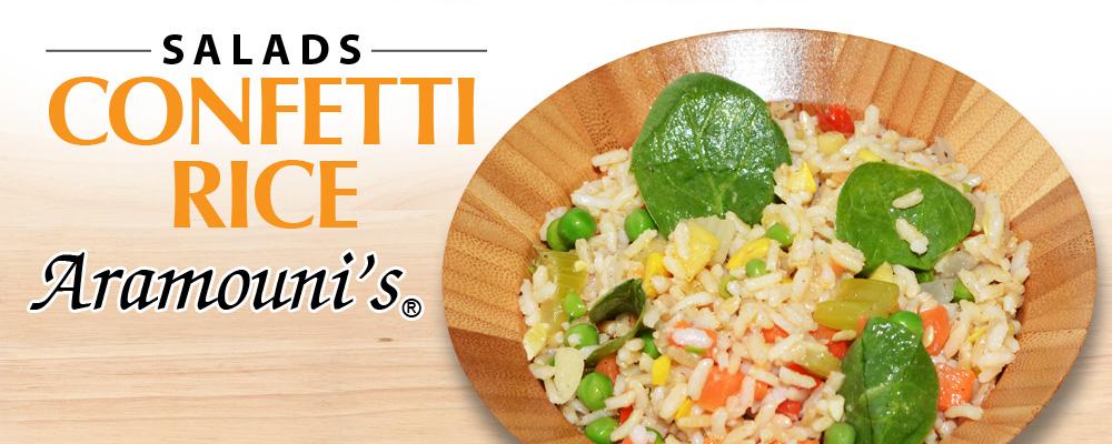 Confetti Rice - Aramouni's