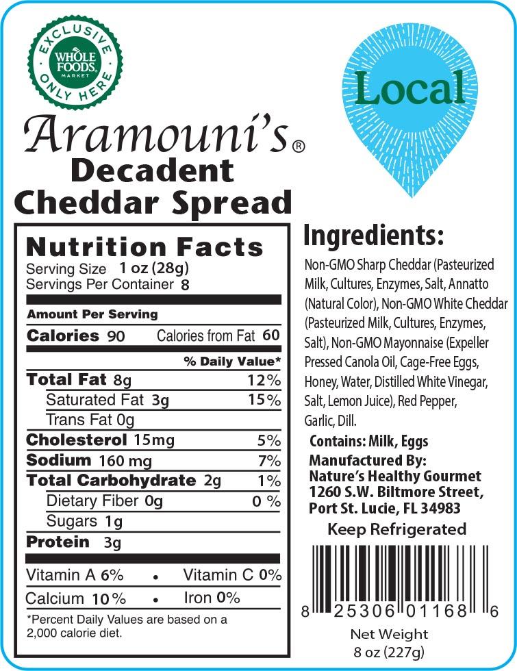 Aramouni's Decadent Cheddar Spread