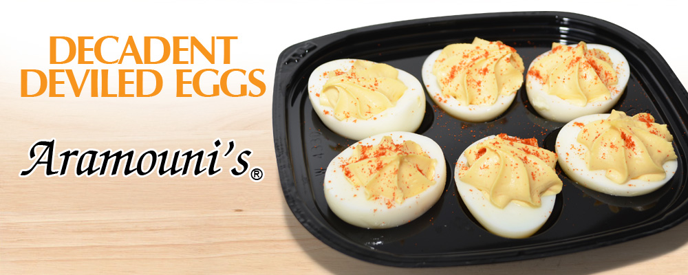Decadent Deviled Eggs - Aramouni's