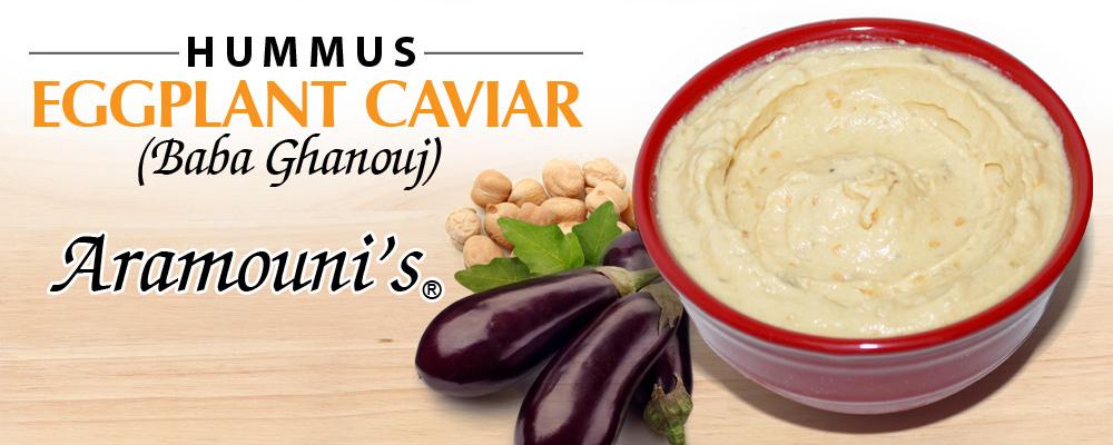 Eggplant Caviar Hummus - Aramouni's