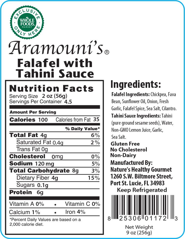 Aramouni's Falafel with Tahini