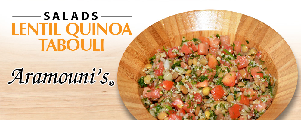 Lentil Quinoa Tabouli - Aramouni's