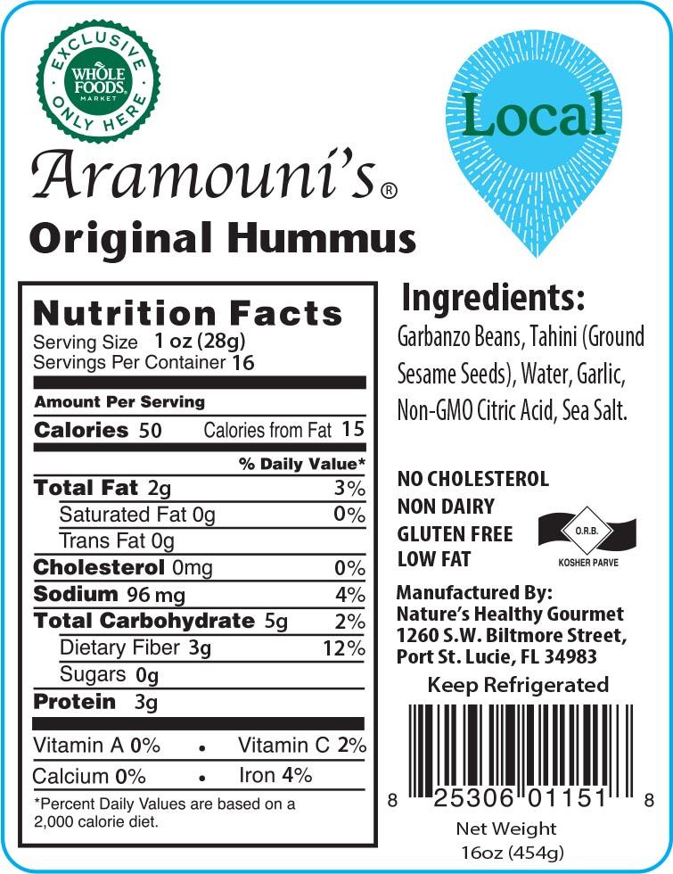 Aramouni's Original Hummus