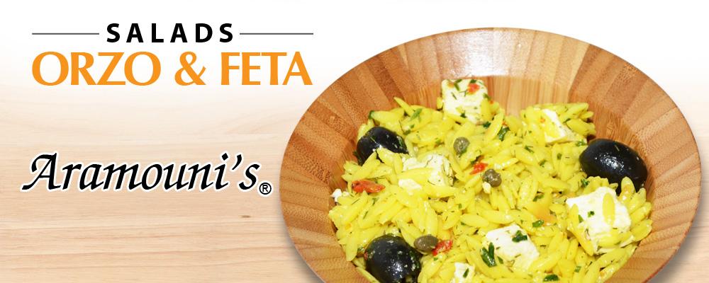Orzo & Feta Salad - Aramouni's