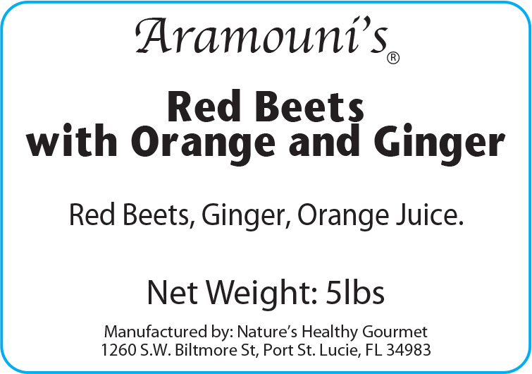Aramouni's Red Beets with Orange and Ginger