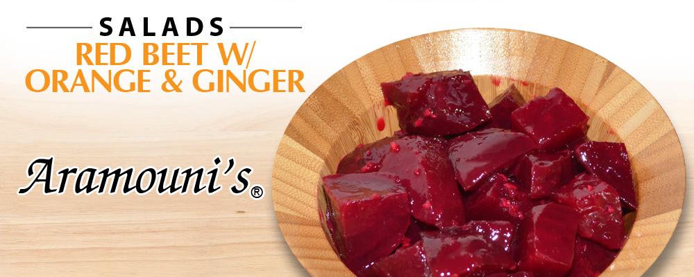 Red Beet with Orange & Ginger - Aramouni's