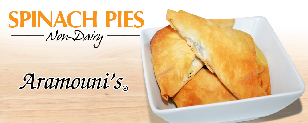 Spinach Pies - Non-Dairy - Aramouni's