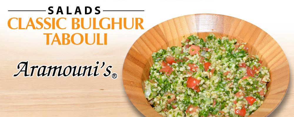 Classic Bulghur Tabouli - Aramouni's