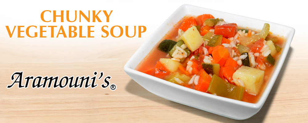 Vegetable Soup - Aramouni's