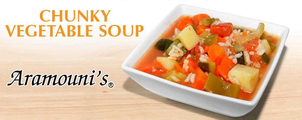 Vegetable Soup - Aramouni's