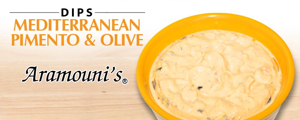 Mediterranean Pimento & Olive Dip - Aramouni's