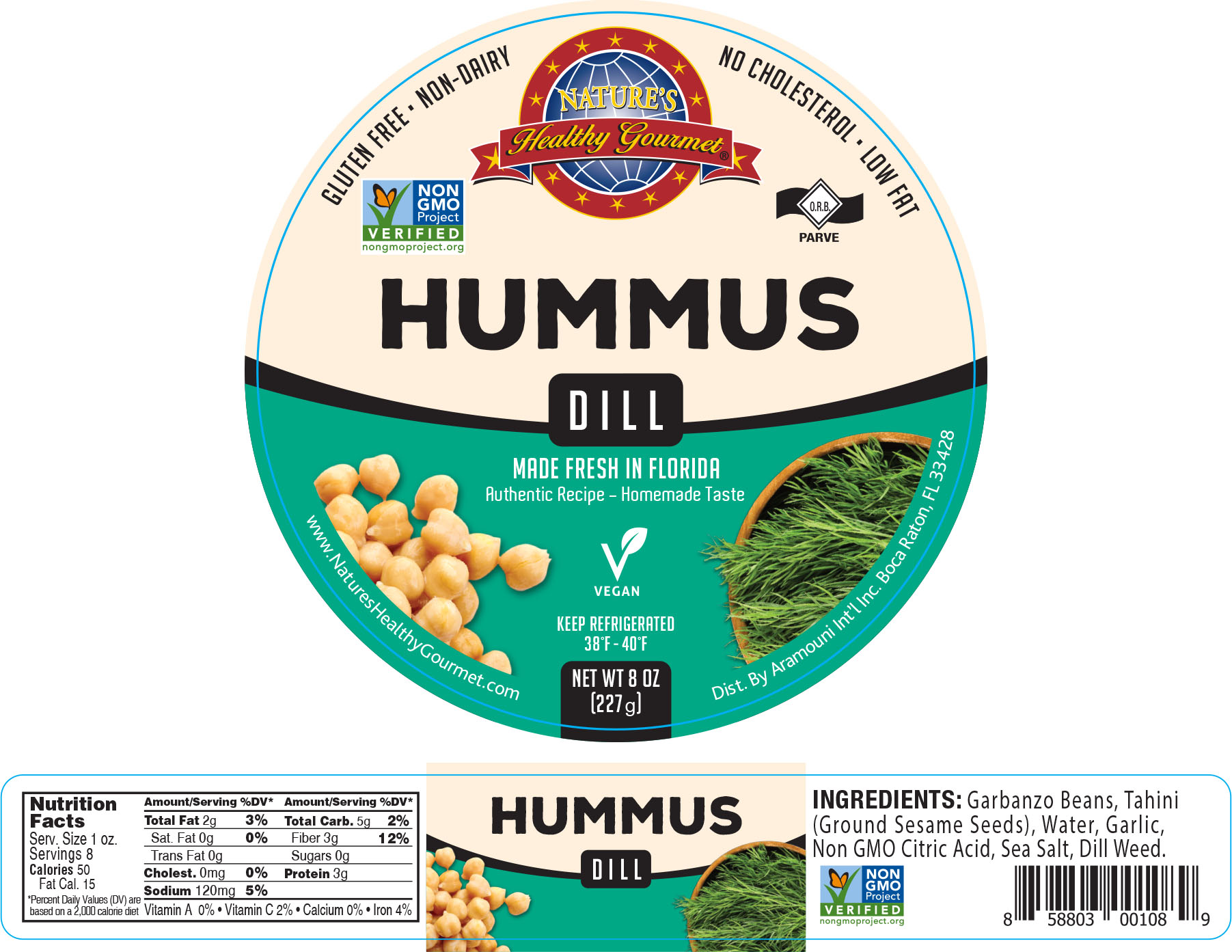 Nature's Dill Hummus