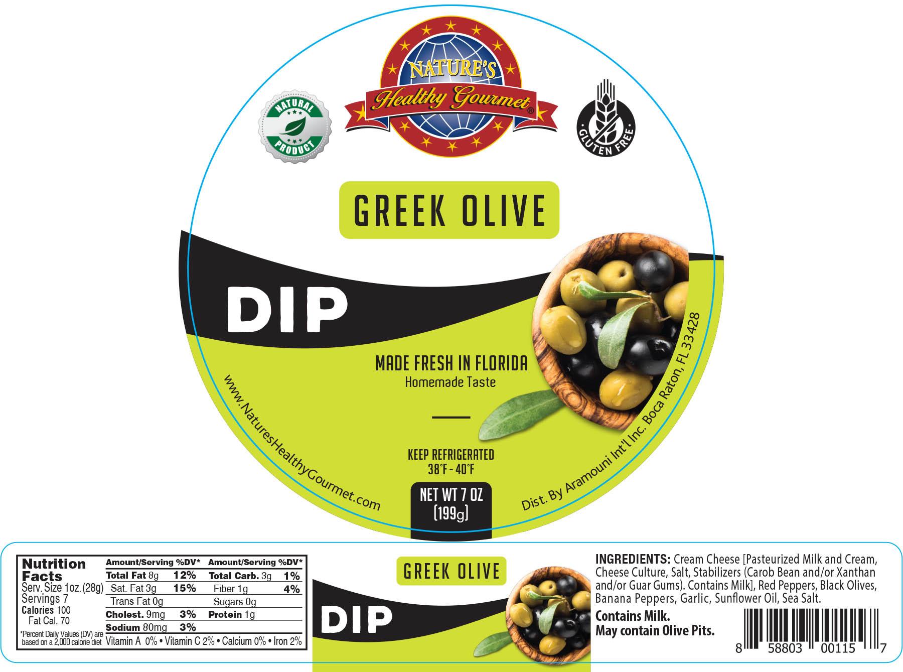 Nature's Greek Olive Dip
