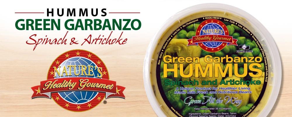 Nature S Healthy Gourmet Hummus