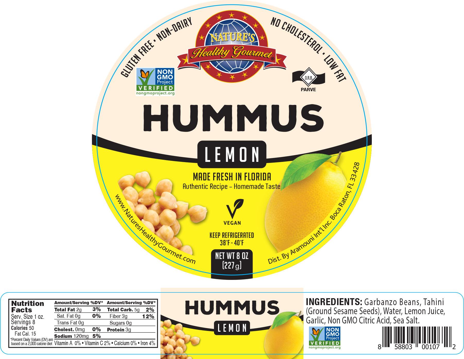 Nature's Lemon Hummus