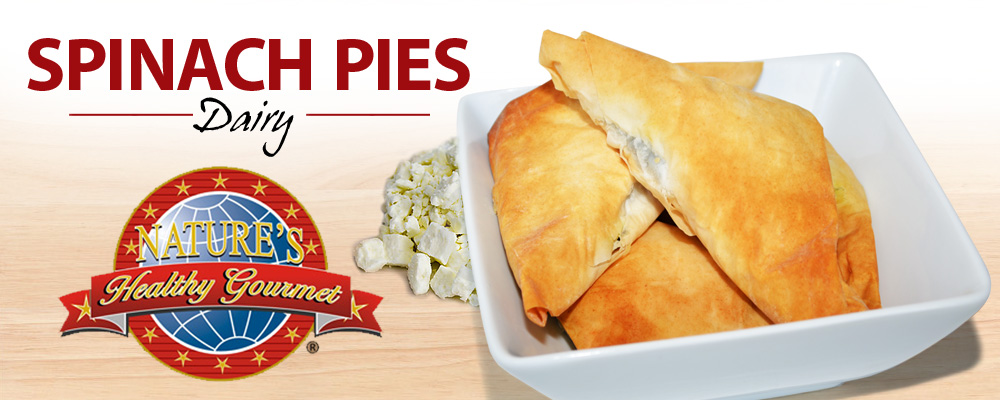 Spinach Pies Dairy - Nature's