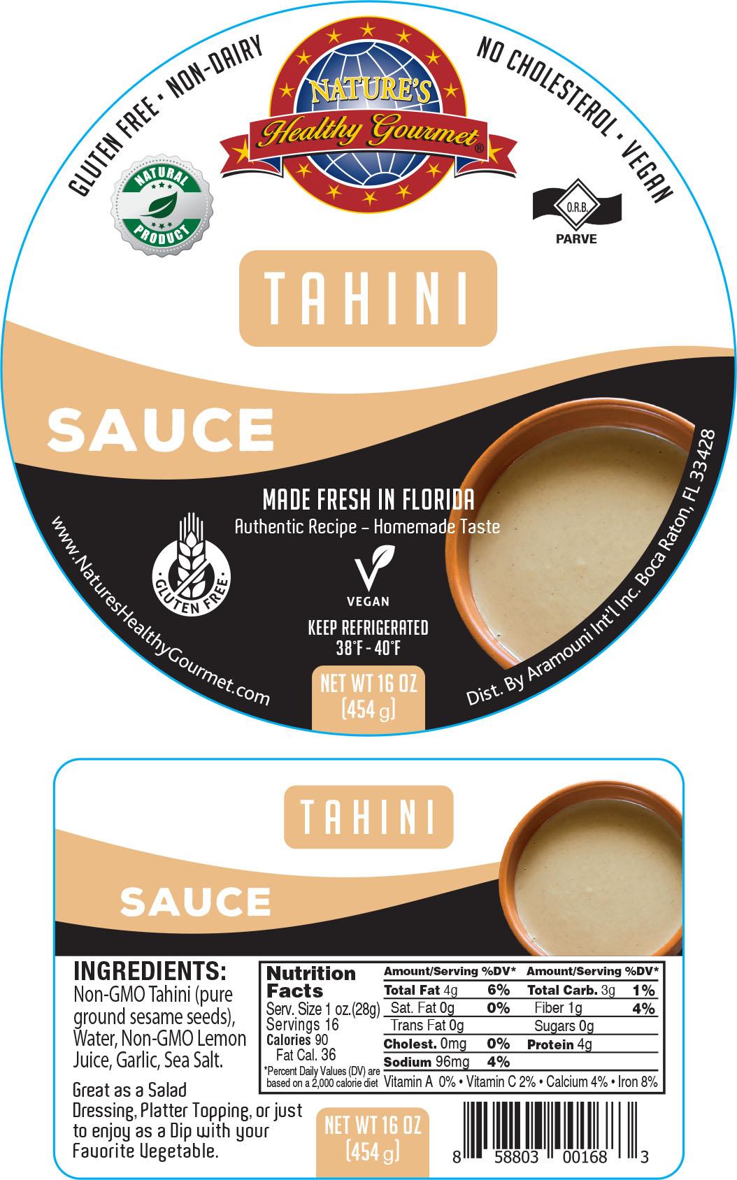 Nature's Tahini Sauce