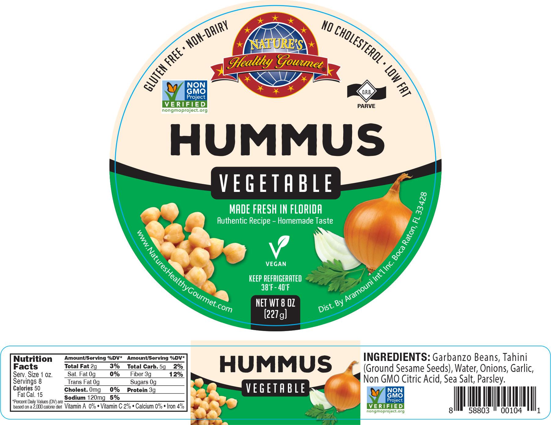 Nature's Vegetable Hummus