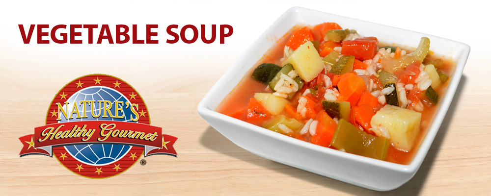 Vegetable Soup - Nature's Healthy Gourmet