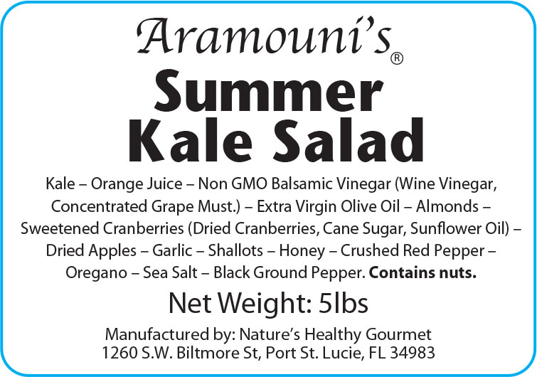 Aramouni's Summer Kale Salad