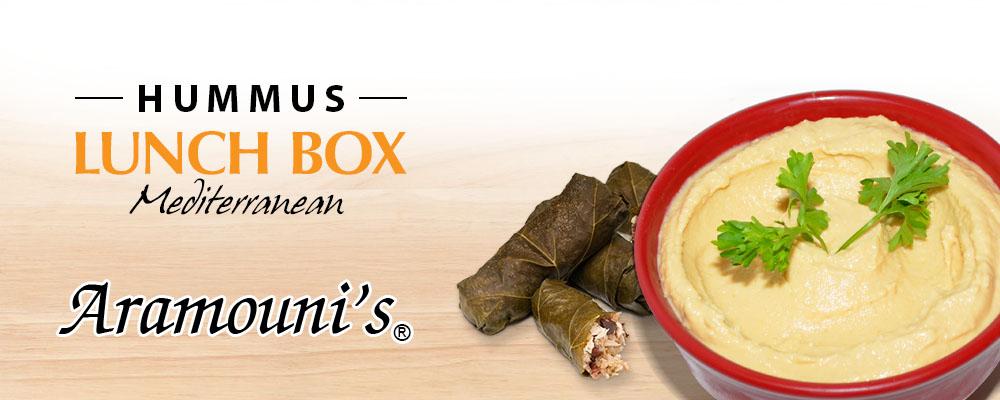Aramounis Mediterranean Lunch Box Banner