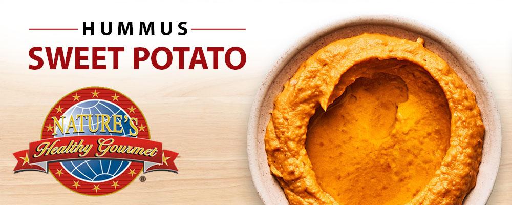 Sweet Potato Hummus Banner