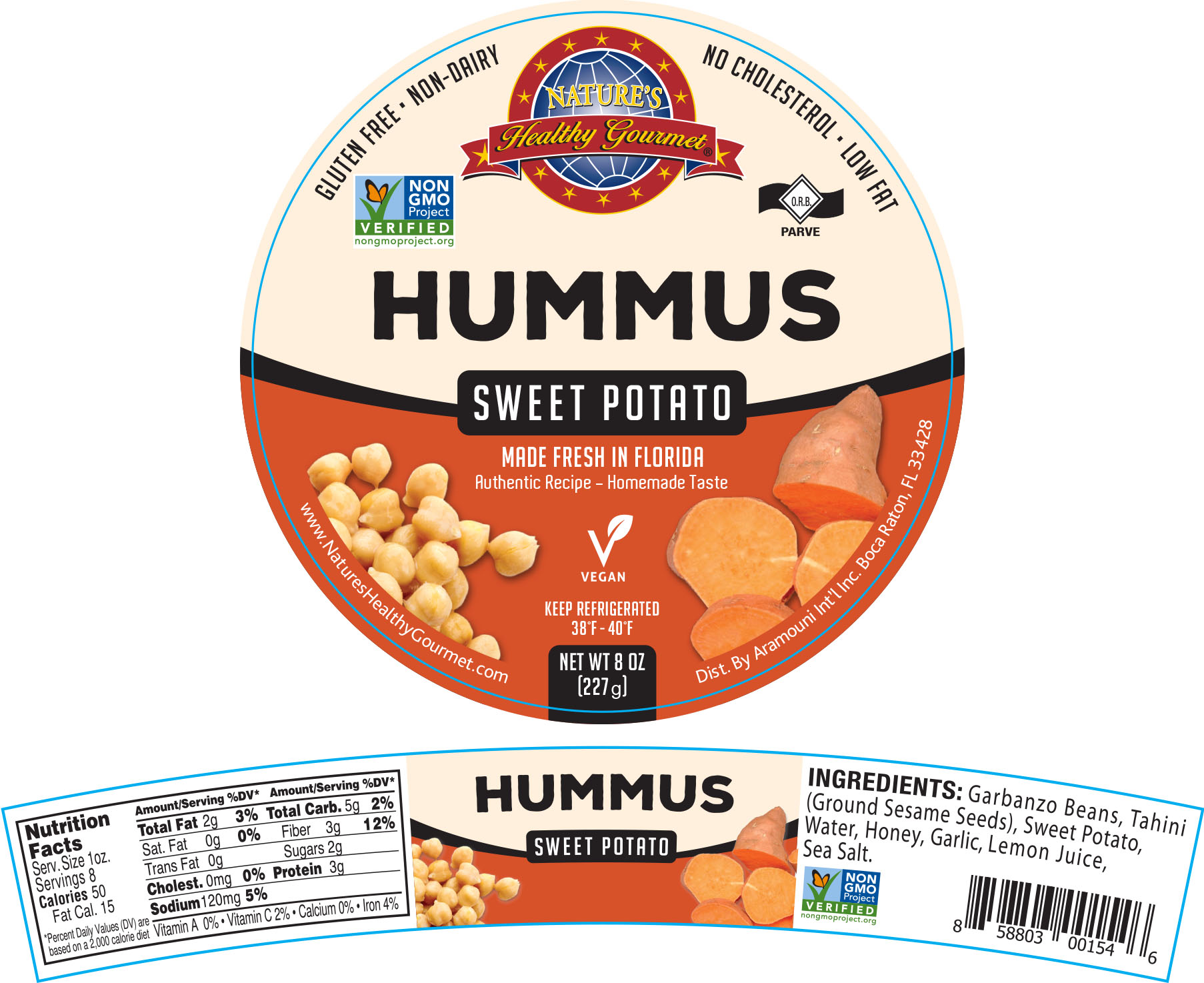 Nature's Sweet Potato Hummus